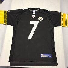0712ddc14 Ben Roethlisberger Pittsburgh Steelers NFL Football Jersey Field Medium  Reebok