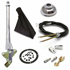 16 Trans Mnt E-Brake HandleBlack Boot, Cap, Blk Ring, Cable Kit, GM Clevis