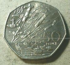 Great Britain Uk 50 pence 1994 Wwii Victory commemorative Normandy Invasion