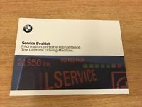 BMW SERVICE BOOK BRAND NEW GENUINE FOR ALL PETROL AND DIESEL CARS OEM ***