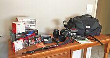 Canon EOS Rebel T3i / EOS 600D 18.0MP Digital SLR Camera Kit w/ Panasonic Flash!