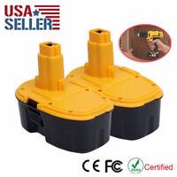 2x 18V 18Volt 2.0Ah Ni-CD Battery for DEWALT DC9096 DE9096 DE9503 DW9098 DW9095