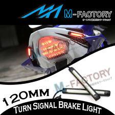 12cm Tail Brake Turn Signal LED Strip Lights Bar For MT-07 MT-09 Tmax 500 530