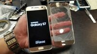 Samsung Galaxy S7 G930 Cracked Screen Front Glass Repair Service - uk -