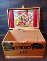 Arturo Fuente Flor Fina 8-5-8  Maduro Empty Wood Cigar Box Dominican Republic