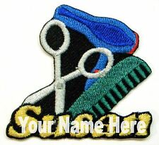Hairstylist Custom Iron-on Patch With Name Personalized Free