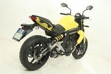 Catalizzatore omologato cap.5 (cat.002) Giannelli Kawasaki ER-6N / 6F 2012>2016