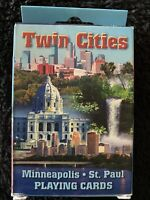 Minneapolis-St. Paul The Twin Cities Souvenir Playing Cards