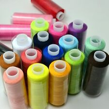 24pcs  Mixed Color Spools Advanced Polyester Sewing Thread Yarn Set MultiPurpose