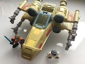 Star Wars - Galactic Heroes - Galaxy Heroes - Luke Skywalker X-Wing Fighter