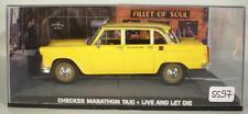 James Bond 007 Collection 1/43 Checker Taxi Live and let die in O-Box #5597