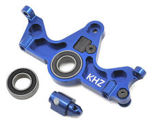 King Headz Traxxas Slash 4x4 Aluminum Motor Mount w/Telemetry Mount (Blue)
