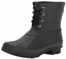 WESTERN CHIEF Womens Ankle Rain Boot, Rain Duck Boot Black,  U.S. SIZE 7 M