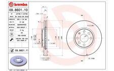 1x BREMBO Disco de freno delantero Ventilado 260mm 09.8601.11