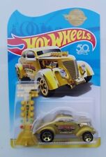 HOT WHEELS 50 th Anniversary 2018 Pass'n Gasser Gold NEW MIB SEALED hotwheels