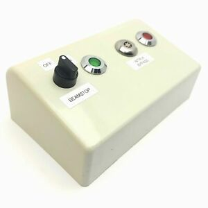 Resonetics LASER Control Panel, On/Off, Key Switch, Red/Green Lights *No Key*