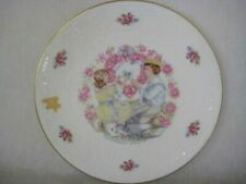 "Vtg Royal Doulton Valentine Plate, 1977, Made in England, ""My Valentine"" Poem"