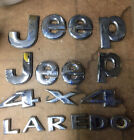 2006 Jeep Grand Cherokee Hood And Rear Hatch Emblem Badages Logo Set Front Rear