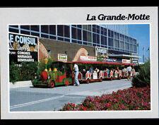 LA GRANDE MOTTE (34) PETIT TRAIN Publicités : 8 à HUIT / WESTERN BOOTS / UNICO