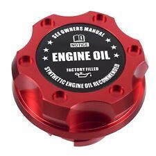 Red Billet Black Engine Oil Anodized Oil Cap Filler Fits Silverado Sierra HD
