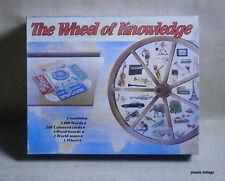 THE WHEEL OF KNOWLEDGE NIB BOARD GAME MADE IN GREECE by PELFICO TOYS 1989 GREEK