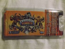 Skylanders Giants Trading Cards. Topps.  3 Packs of 3