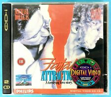 FATAL ATTRACTION - ATTRAZIONE FATALE - MICHAEL DUGLAS - VIDEO CD