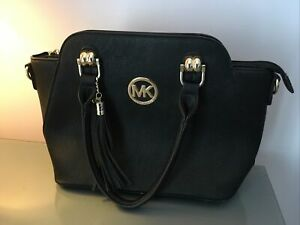 ❤️❤️LADIES MK (Michael Kors) HAND/SHOULDER BAG BLACK Excellent Condition!❤️❤️