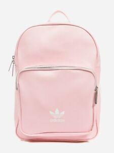 adidas Originals Women Backpack Classic Trefoil Pink Back To School Bag DU6809