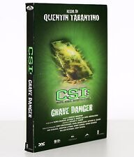 CSI. GRAVE DANGER [REGIA DI QUENTIN TARANTINO] [EDIZ. COFANETTO / DVD 2005] RARO