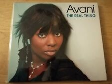 AVANI. -   THE REAL THING.   -  RARE INDIE R&B  CD