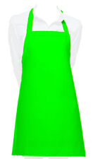 Cutest Ever Green Vinyl Waterproof Apron Durable Lightweight Dish Grooming
