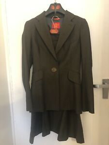 Vivienne Westwood Red Label Skirt Suit in Impeccable Condition UK Size 8-10