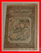 L'INTREPIDO Avventure Viaggi Esplorazioni Anno II N 59 - 9/1/1921 Picco Toselli