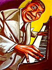 ART TATUM PRINT poster jazz solo piano pablo group masterpieces cd live session