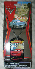 Disney Kids The Cars Lightning McQueen Dog Tag Necklace Birthday PARTY FAVORS