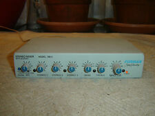 "Furman SM-3 1/4"" Mic In, 3 Ch, Stereo Mixer with Ducking, Equalizer, Vintage"