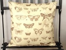 Cushion cover made In Pretty Butterfly Print Cotton