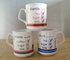 Personalised Tea Coffee Mug, Personalised Mug, Add any name, Dishwasher safe