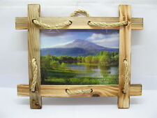 """6X 7"""" Wall Hanging Wooden Picture Photo Frame"""