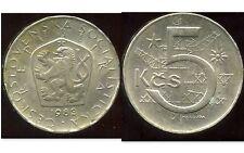 TCHECOSLOVAQUIE  5 korun 1983   ( bis )