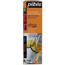 Pebeo VITREA 160 VERNICE VETRO DIPINTO 6 X x 20ml base d'acqua VERNICE Hobby Craft