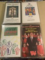 Mixed Christmas Festive Carol Hymns Music Cassette Tapes Bundle Joblot X 4