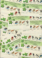 1757 Capex 1978 Birds Animals Souv Sheet WHOLESALE LOT of 12 Mint PLATE# BLOCKS