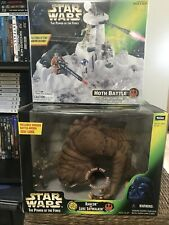 Star Wars Power Of The Force Rancor And Hoth Battle Lot