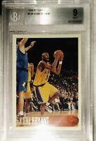 1996-97 Topps #138 Kobe Bryant RC Rookie Lakers HOF BGS 9 MINT