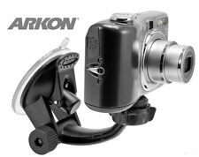Arkon CMP214 Black Dash Windshield Camera Camcorder Mount f/ GoPro Contour Kodak