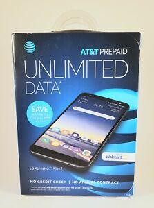 """BRAND NEW AT&T Prepaid LG Xpression Plus 2, 5.7"""" HD+FullVision Display, 13MP"""