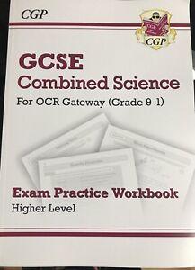 CGP GCSE COMBINED SCIENCE EXAM PRACTICE WORKBOOK (HIGHER)