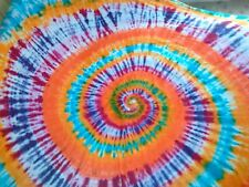AWESOME VINTAGE MASTER TIE DYE  9' X 12' CLOTH  Muslin Backdrop    WALL HANGING